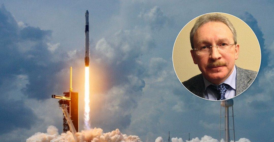 »Дед, таблетки пей»: в сети высмеяли »единоросса», заявившего, что запуск ракеты Маска – фейк