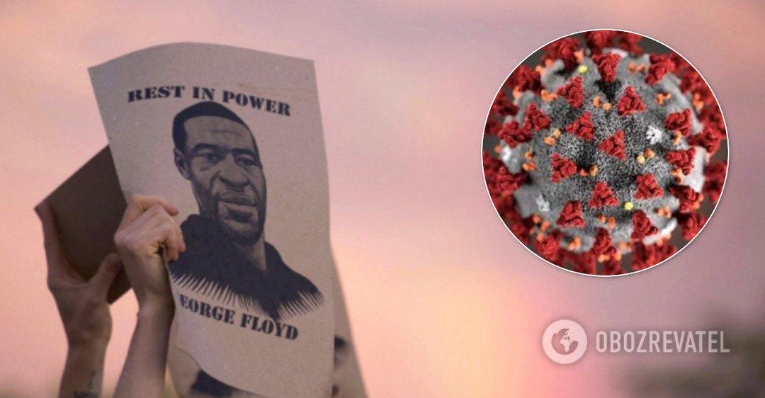 Убитый в США Джордж Флойд был заражен COVID-19