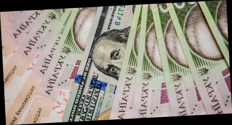 Курс валют НБУ. Доллар иевро дешевеют