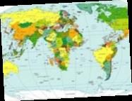 Назвали самые опасные страны мира: место Украины (карта)