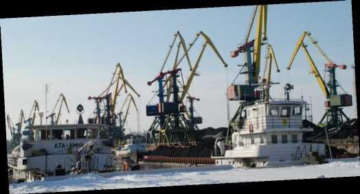 Засыпало снегом. Морские порты Украины ограничили перевалку зерновых