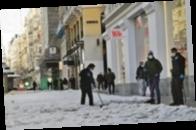 В Испании стоят рекордные морозы