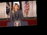 Мелания Трамп записала прощальное обращение