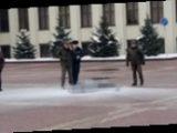 В центре Минска неизвестный совершил самосожжение