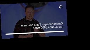 Капитализация Tesla впервые превысила $800 млрд