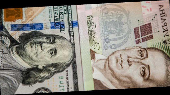 Курс валют НБУ. Доллар иевро дорожают