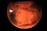 На Марсе сняли гигантские смерчи