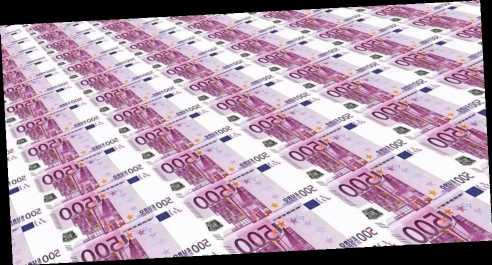 Германия впервые почти загод разместила бонды сположительной доходностью
