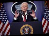 Байден отменил указ Трампа, ограничивающий въезд в США иностранцев