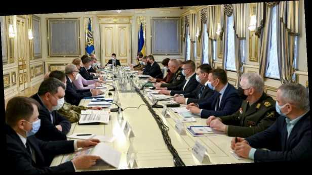 Санкции против Медведчука, война на Донбассе и энергобезопасность: главное о заседании СНБО