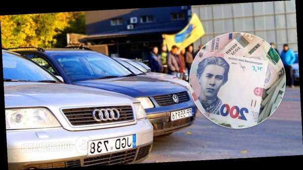 У Зеленского сказали, сколько украинцев смогут растаможить »евробляхи» по льготе