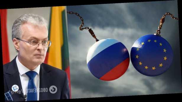 Президент Литвы: мы не можем закрыть глаза на агрессию РФ в Украине и отравление Навального