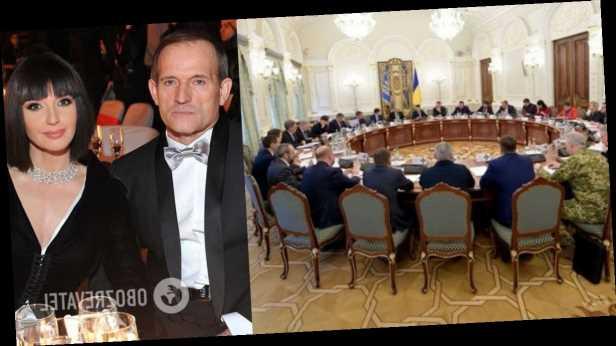 В СНБО ввели санкции против Медведчука и Марченко за финансирование терроризма