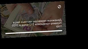 Денежные переводы частных лиц в Украину превысили $12 млрд в 2020 году