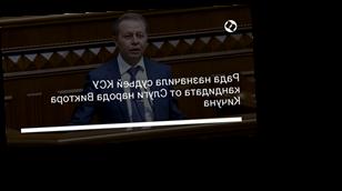 Рада назначила судьей КСУ кандидата от Слуги народа Виктора Кичуна