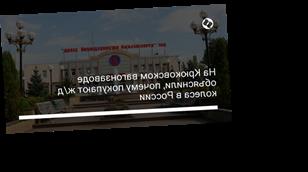 На Крюковском вагонзаводе объяснили, почему покупают ж/д колеса в России