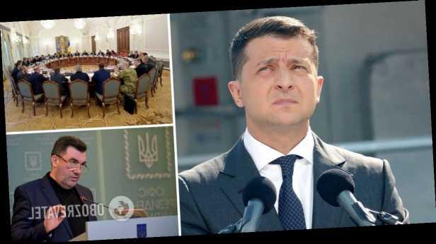 Зеленский собрал заседание СНБО: санкции ввели против Медведчука и его жены. Все подробности и списки