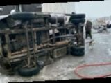 На Днепропетровщине столкнулись два грузовика, есть погибший и пострадавшие