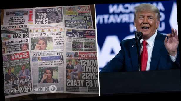 Трамп заявил о желании баллотироваться в президенты США после слов Меган Маркл