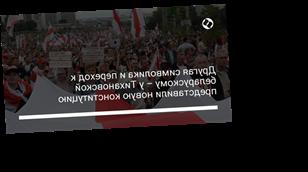 Другая символика и переход к беларускому – у Тихановской представили новую конституцию
