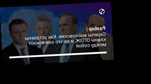 Скрепы московские. Как устроены кланы ОПЗЖ, и за что они воюют между собой