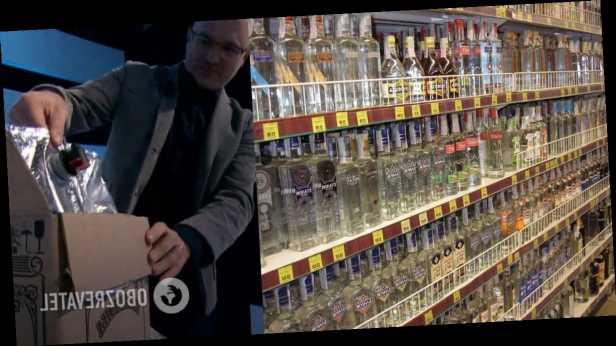 В эфире у Шустера назвали цену за контрафактную водку. Фото и видео подделки