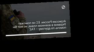 Агрессия России. ЕС не поможет Украине в военном плане, но мог бы помочь по-другому – FAZ