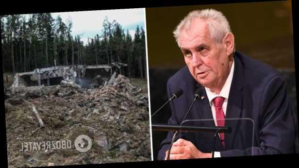 Чешские политики возмутились выступлением своего президента о взрывах на военных складах