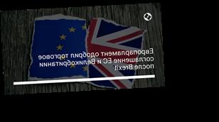 Европарламент одобрил торговое соглашение ЕС и Великобритании после Brexit