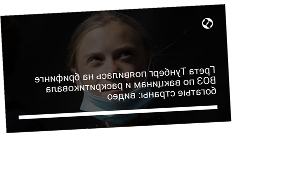 Грета Тунберг появилась на брифинге ВОЗ по вакцинам и раскритиковала богатые страны: видео