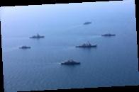 Корабли Каспийской флотилии зашли в Черное море