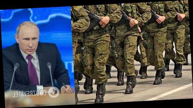 Путин подписал указ о призыве резервистов на военные сборы