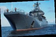 Россия оставила в Черном море два корабля Северного флота
