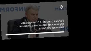 Россия способна планировать грузинский сценарий в Украине – министр обороны