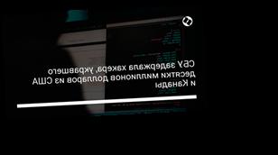 СБУ задержала хакера, укравшего десятки миллионов долларов из США и Канады