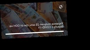 Украина получит 25 млн грн от ООН на борьбу с COVID-19