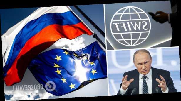 В ЕС предложили ввести более жесткие санкции против России: отключить от SWIFT и остановить »Северный поток-2»