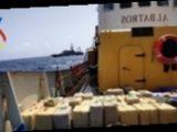 В Испании на судне с украинским экипажем обнаружили тонны наркотиков