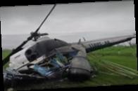 В России потерпел крушение вертолет, пилот погиб