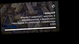 В составе Спутника V нашли способный к размножению аденовирус. Бразилия не разрешает ввоз