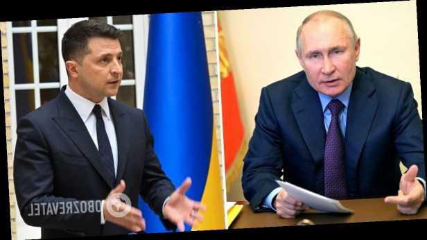 Зеленский на русском языке предложил Путину встретиться на Донбассе. Видео