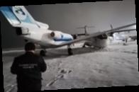 В российском аэропорту на стоянке столкнулись два самолета