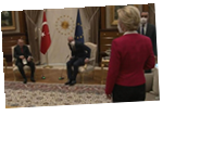 На встрече с Эрдоганом главе ЕК не дали стула