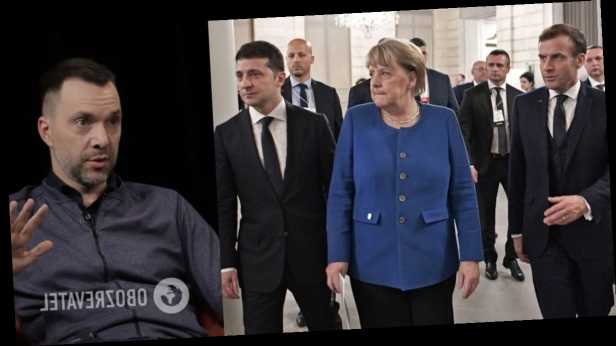 Арестович озвучил сроки встречи лидеров »нормандского формата» без России