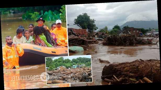 В Индонезии аномальные ливни унесли более 70 жизней. Фото и видео