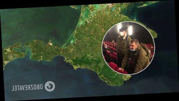 В Москве попытались сорвать показ фильма о Крыме из-за слова »аннексированный». Видео