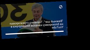 """""""Важный шаг"""". Ткаченко отреагировал на блокировку каналов Медведчука в YouTube"""