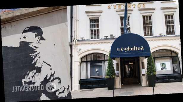 Аукционный дом Sotheby's продаст культовую картину Бэнкси за криптовалюту