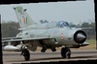 Истребитель ВВС Ливии разбился во время парада