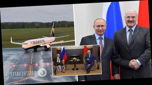 Путин встретился с Лукашенко в Сочи и назвал ситуацию вокруг Беларуси »всплеском эмоций». Первые фото и видео